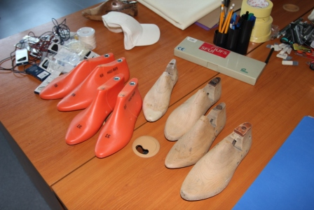 "FabLab - workshop  ""Another Shoe – collaborative open production""  (10. - 11. 6 2015)"